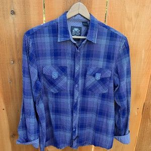 English Laundry Blaque Label Flip Cuff Shirt L